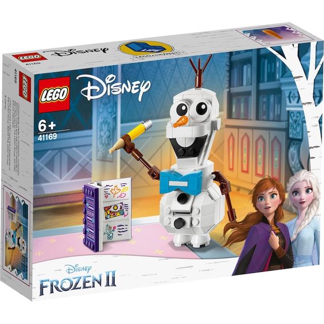 "LEGO® Konstruktionsspielsteine ""Olaf (41169), LEGO® Disney Princess"", Kunststoff, (122-tlg.)"