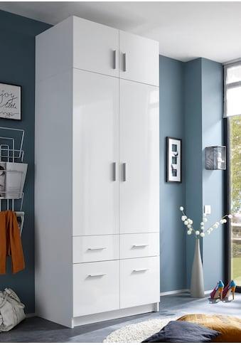 Kleiderschrank »Hagen«, mit Aufsatz und Schubkästen kaufen