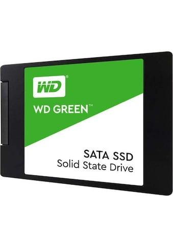 """Western Digital Green SSD 480GB 2.5""""/7mm SATA kaufen"""