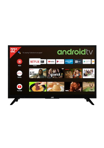 "JVC LED-Fernseher »LT-32VAH3055«, 80 cm/32 "", HD ready, Android TV, (32 Zoll,... kaufen"