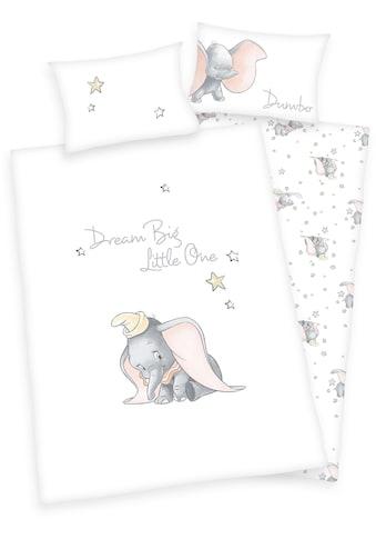Walt Disney Babybettwäsche »Disney´s Dumbo«, mit Sternen und feinem Motiv kaufen