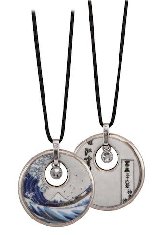 Goebel Kette mit Anhänger »Die Welle, Katsushika Hokusai, 67045021«, mit Swarovski® Kristallen kaufen