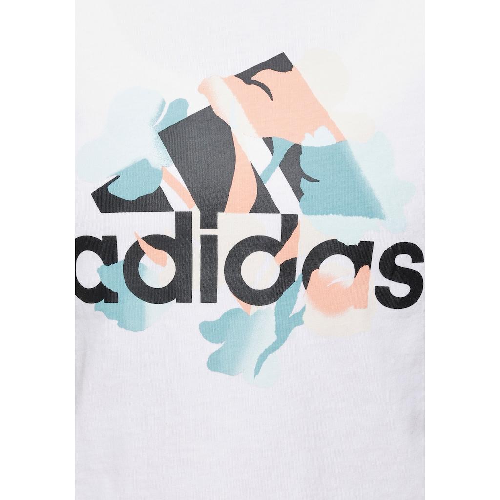 adidas Performance T-Shirt »FLORAL GFX T«