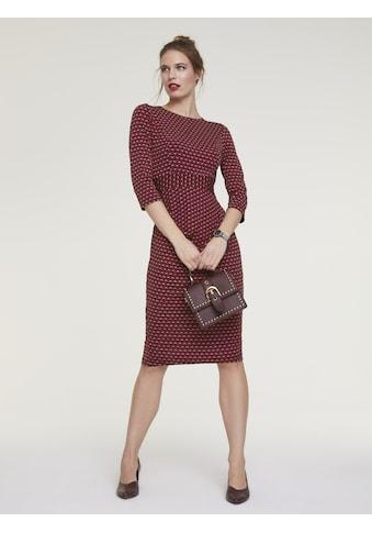 Jerseykleid mit Raffung kaufen