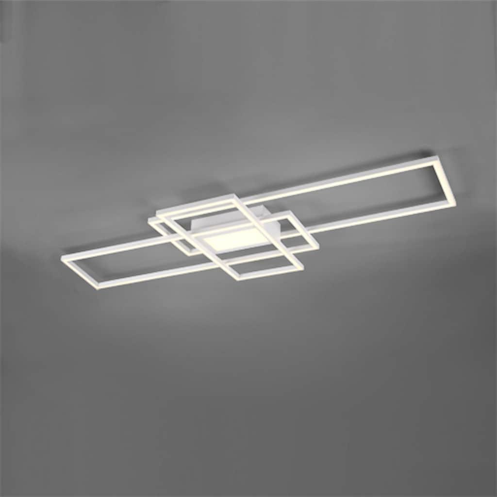 TRIO Leuchten LED Deckenleuchte »MILA«, LED-Board, Farbwechsler, Deckenlampe inkl. Fernbedienung, dimmbar, Memory-Funktion, Farbtemperatur-Steuerung 3000 - 6500K