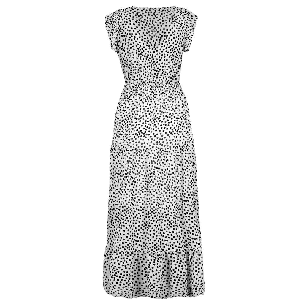 SUBLEVEL A-Linien-Kleid, gepunktet