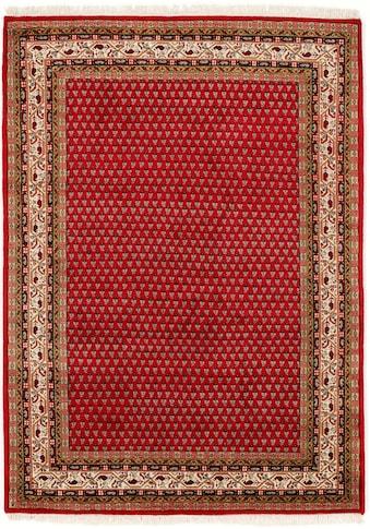 OCI DIE TEPPICHMARKE Orientteppich »Sakki Mir«, rechteckig, 7 mm Höhe, reine Wolle, handgeknüpft, mit Fransen, Wohnzimmer kaufen