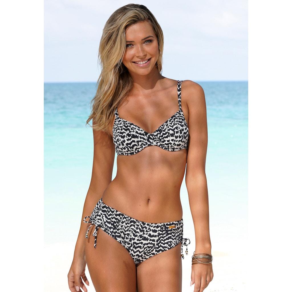 LASCANA Bikini-Hose »Clara«, mit höherem Schnitt