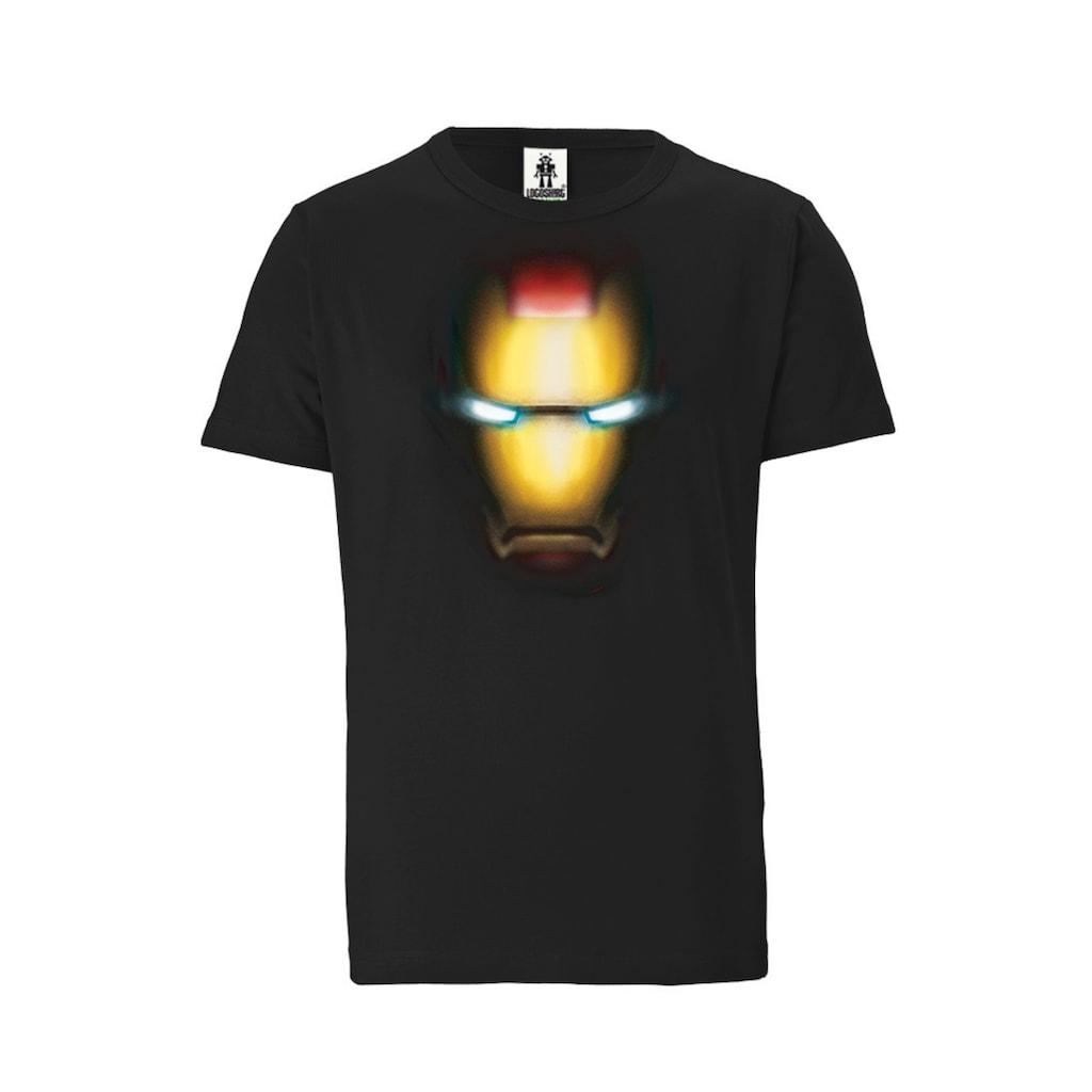 LOGOSHIRT T-Shirt mit trendigem Iron Man-Motiv