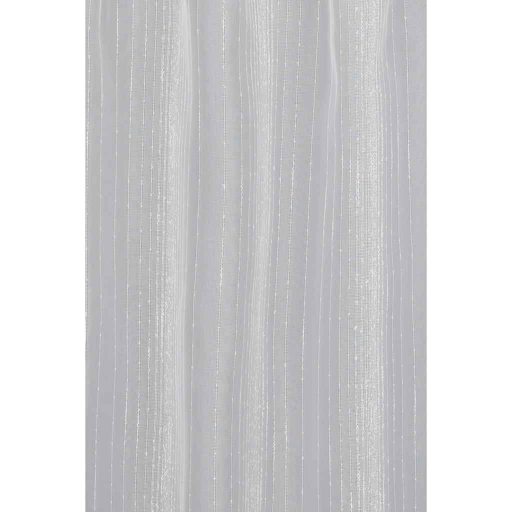 GARDINIA Scheibengardine »Effektgarn«, HxB: 48x140