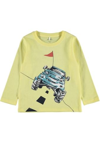 Name It Langarmshirt »BIG CAR« kaufen
