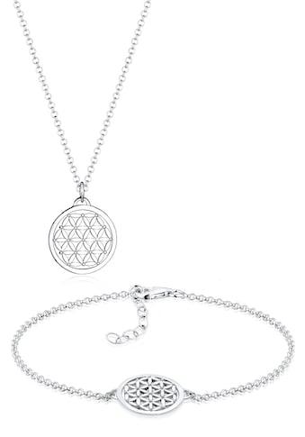 Elli Schmuckset »Lebensblume 925 Sterling Silber« kaufen