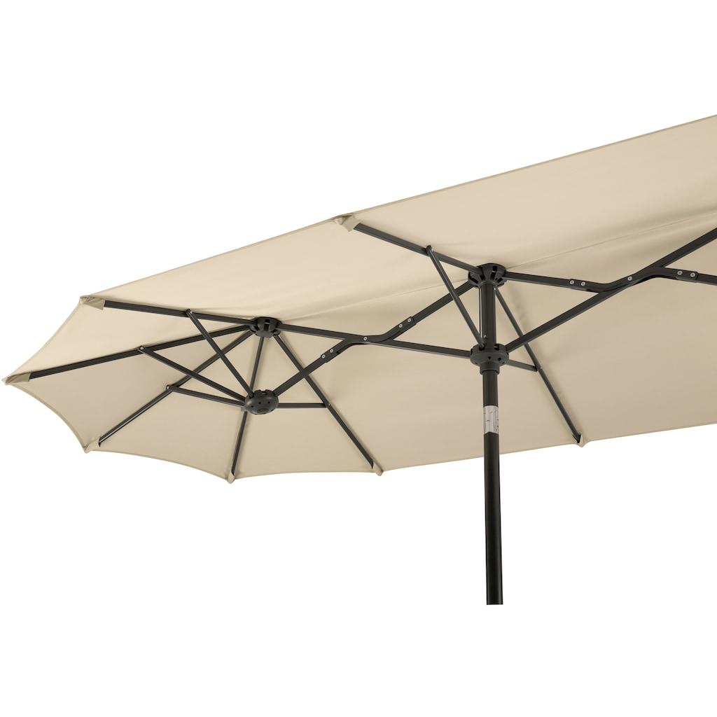 Schneider Schirme Balkonschirm »Salerno«, mit Schutzhülle, ohne Schirmständer