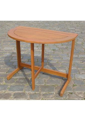 MERXX Gartentisch, 90x60 cm kaufen
