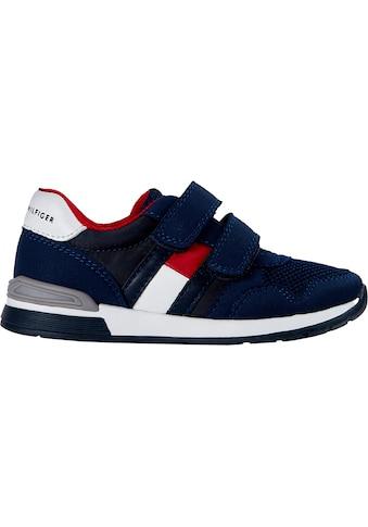 TOMMY HILFIGER Sneaker »LOW CUT VELCRO«, mit doppeltem Klettverschluss kaufen
