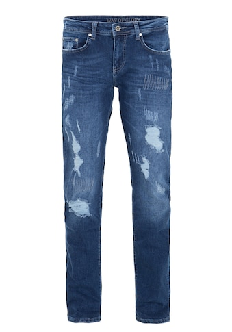 Way of Glory Destroyed-Jeans »Carlos«, mit Destroyed Effekten kaufen