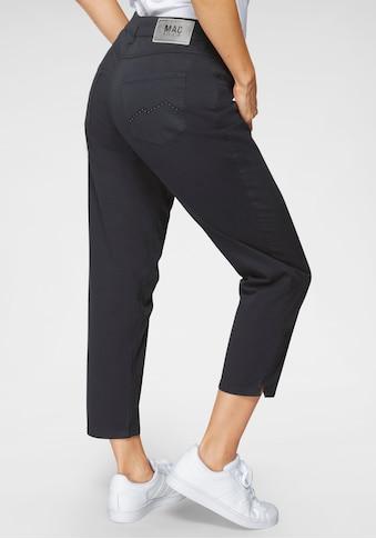 MAC 7/8-Jeans »Melanie 7/8«, Stickerei und Nietenbesatz an den Gesäßtaschen kaufen