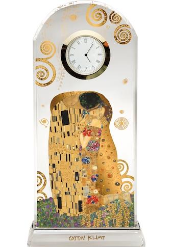 """Goebel Tischuhr »Artis Orbis  -  Gustav Klimt  -  """"Der Kuss"""", 66523241« kaufen"""