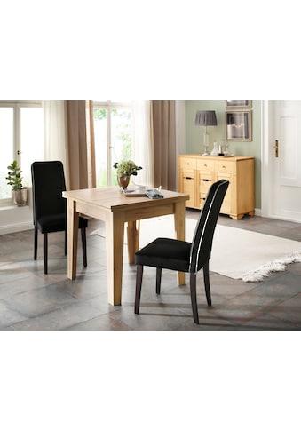 Home affaire Esstisch »Alor«, ausklappbar von 80 auf 160 cm kaufen