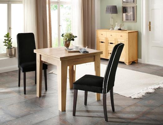 ausziehbarer Klapp-Esstisch aus Holz
