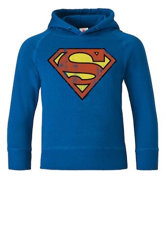 LOGOSHIRT Kapuzensweatshirt mit Superman - Logo kaufen