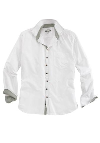 OS-Trachten Trachtenhemd, mit Ziersteppnähten kaufen