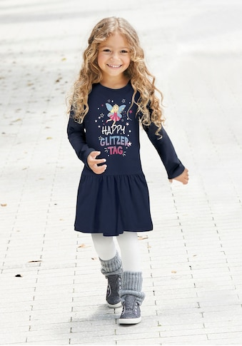 KIDSWORLD Jerseykleid »HAPPY GLITZER TAG« kaufen