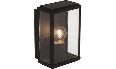 Brilliant Leuchten Außen-Wandleuchte, E27, Gaia Außenwandleuchte schwarz kaufen