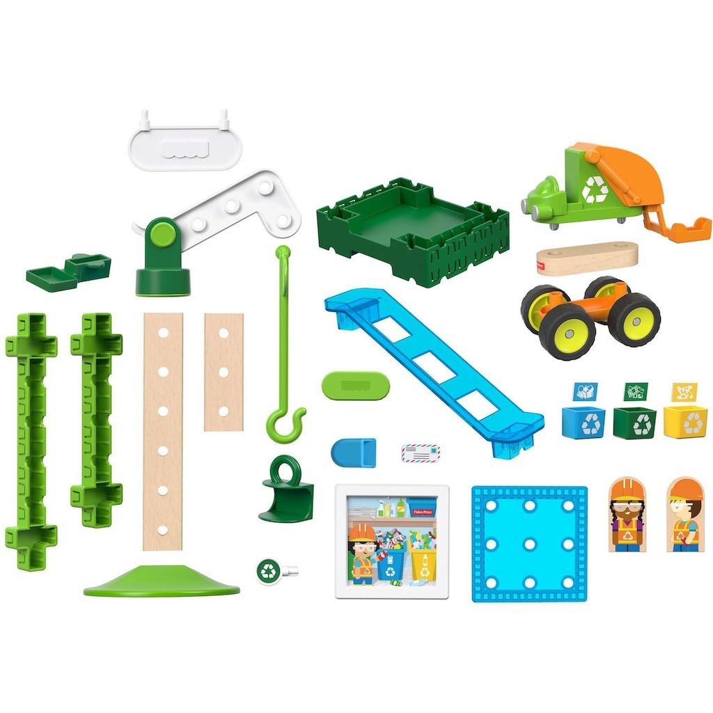 Fisher-Price® Spiel-Gebäude »Wunder Werker Recycling Center«