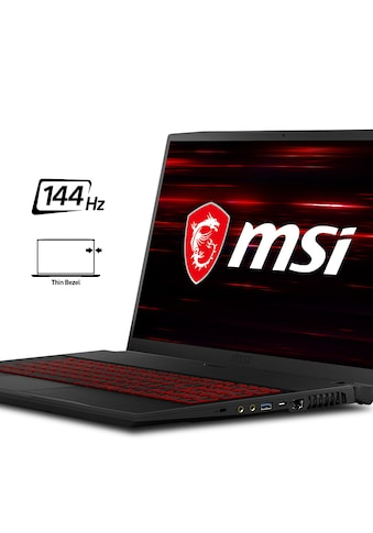 MSI GF75 10SCSR - 404 Thin Notebook (43,9 cm / 17,3 Zoll, Intel,Core i7, 1000 GB HDD, 256 GB SSD) kaufen