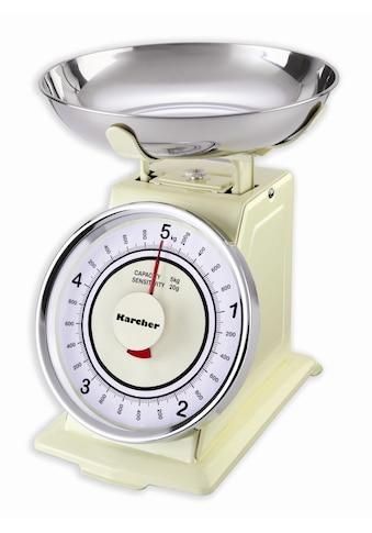 Karcher mechanische Küchenwaage im Retro - Design »WAK 811« kaufen