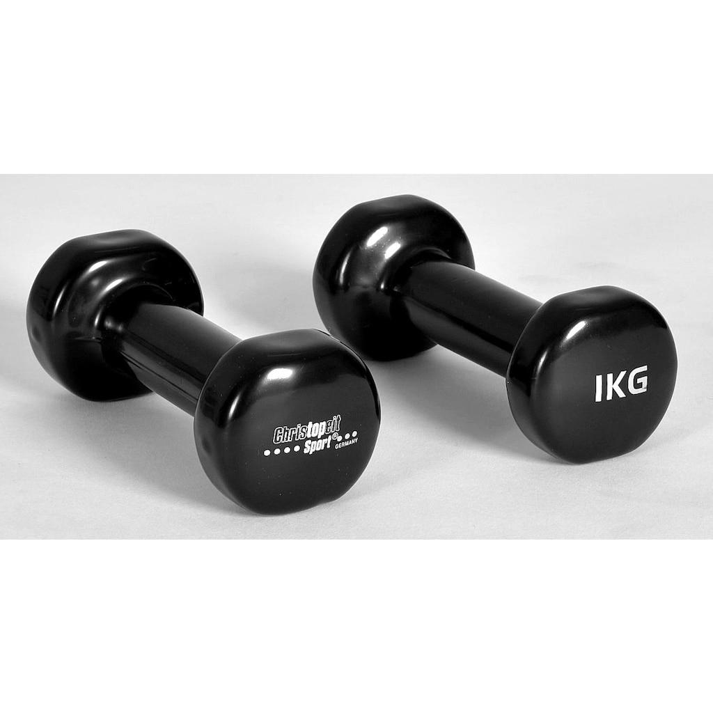 Christopeit Sport® Hantel, 2,0 kg, (2 tlg.)