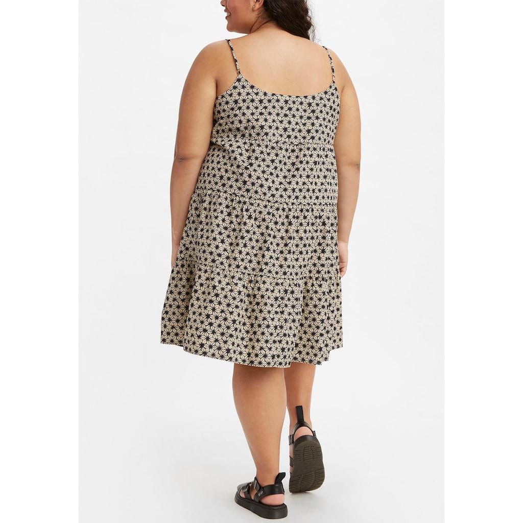Levi's® Plus Sommerkleid, Mit Volants Saum