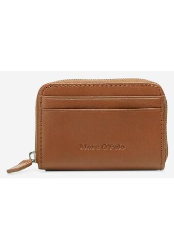 Marc O'Polo Geldbörse »Freya«, aus weichem Leder im kleinen Format kaufen
