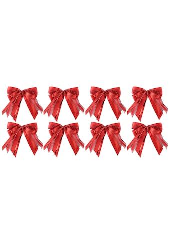 PRÄSENT Weihnachtsbaumschleife, (Set, 8 tlg.), handgebunden kaufen
