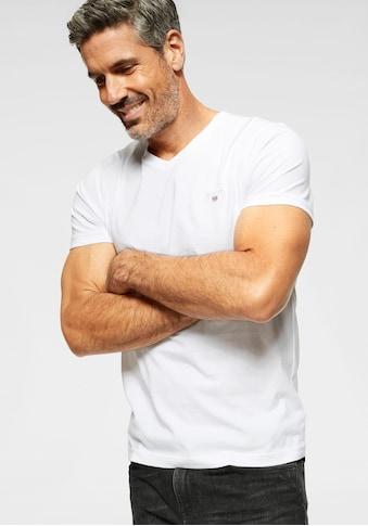 Gant V-Shirt, Basic kaufen