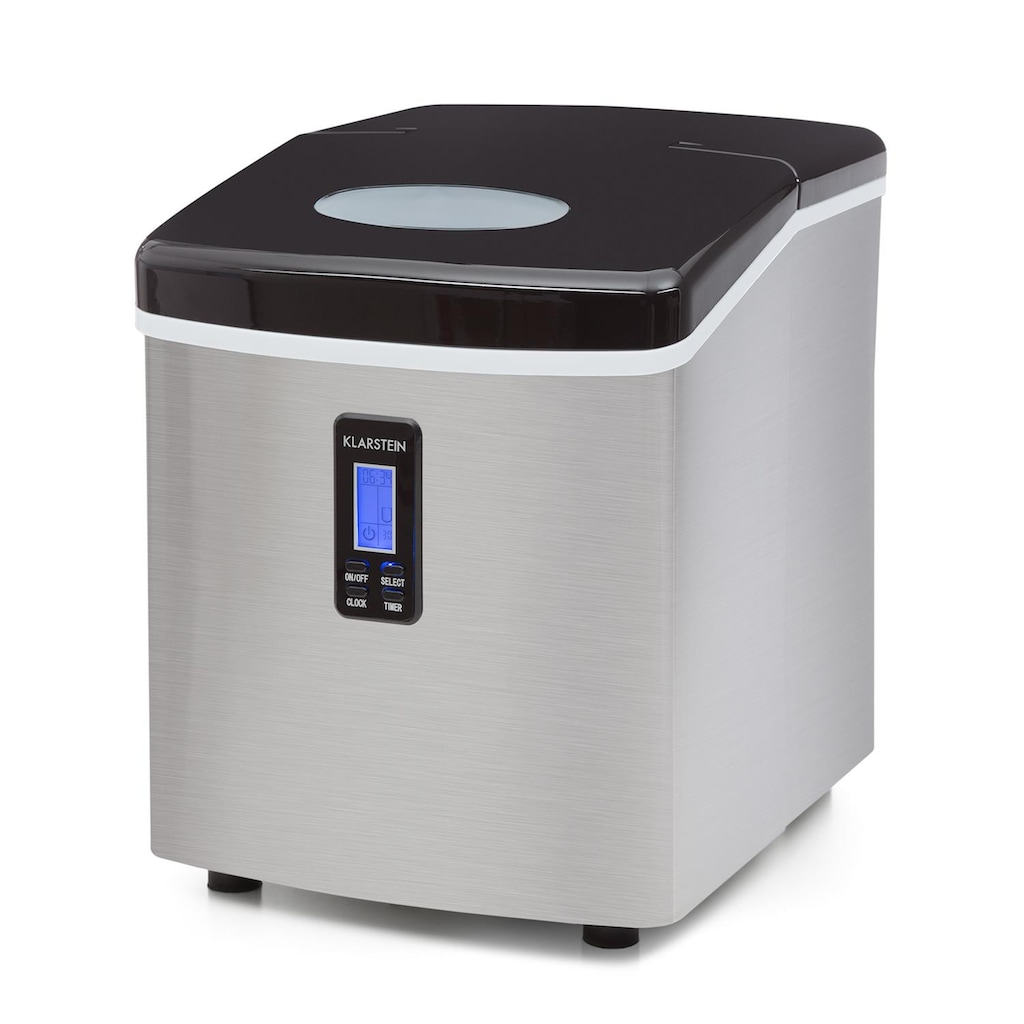 Klarstein Eismaschine 150W Edelstahl