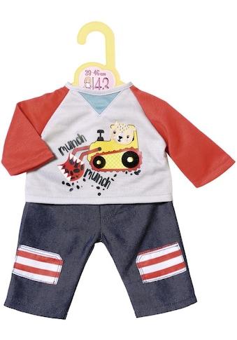 Zapf Creation® Puppenkleidung »Dolly Moda Hose mit Sweatshirt 39-46 cm« kaufen