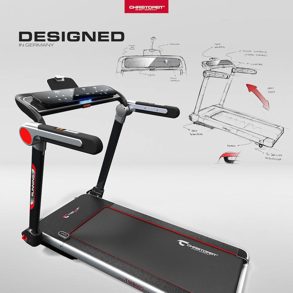 Christopeit Sport® Laufband »Laufband TM 800S«