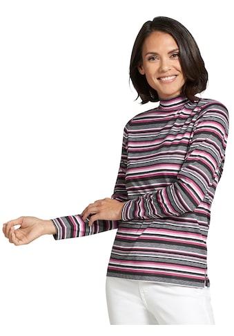 Classic Basics Shirt mit fröhlichen Ringeldessin kaufen
