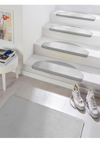 HANSE Home Stufenmatte »Fancy«, halbrund, 7 mm Höhe, große Farbauswahl, 15 Stück in einem Set kaufen