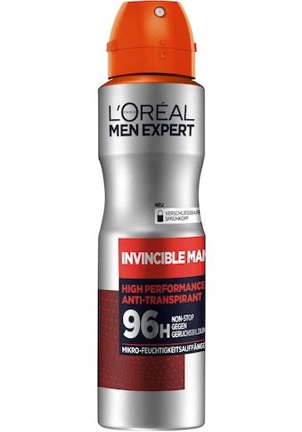 "L'ORÉAL PARIS MEN EXPERT Deo - Spray ""Invincible Man Anti - Transpirant"" kaufen"