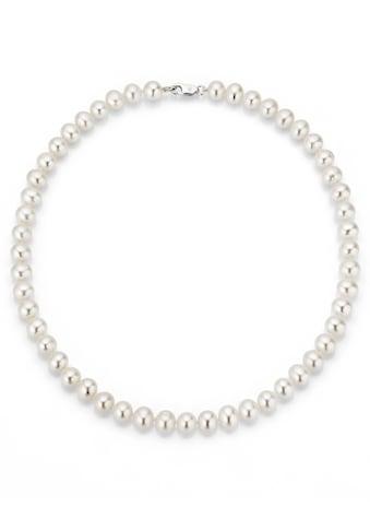 Firetti Perlenkette »rhodiniert, massiv, rund, stilvolles Design« kaufen