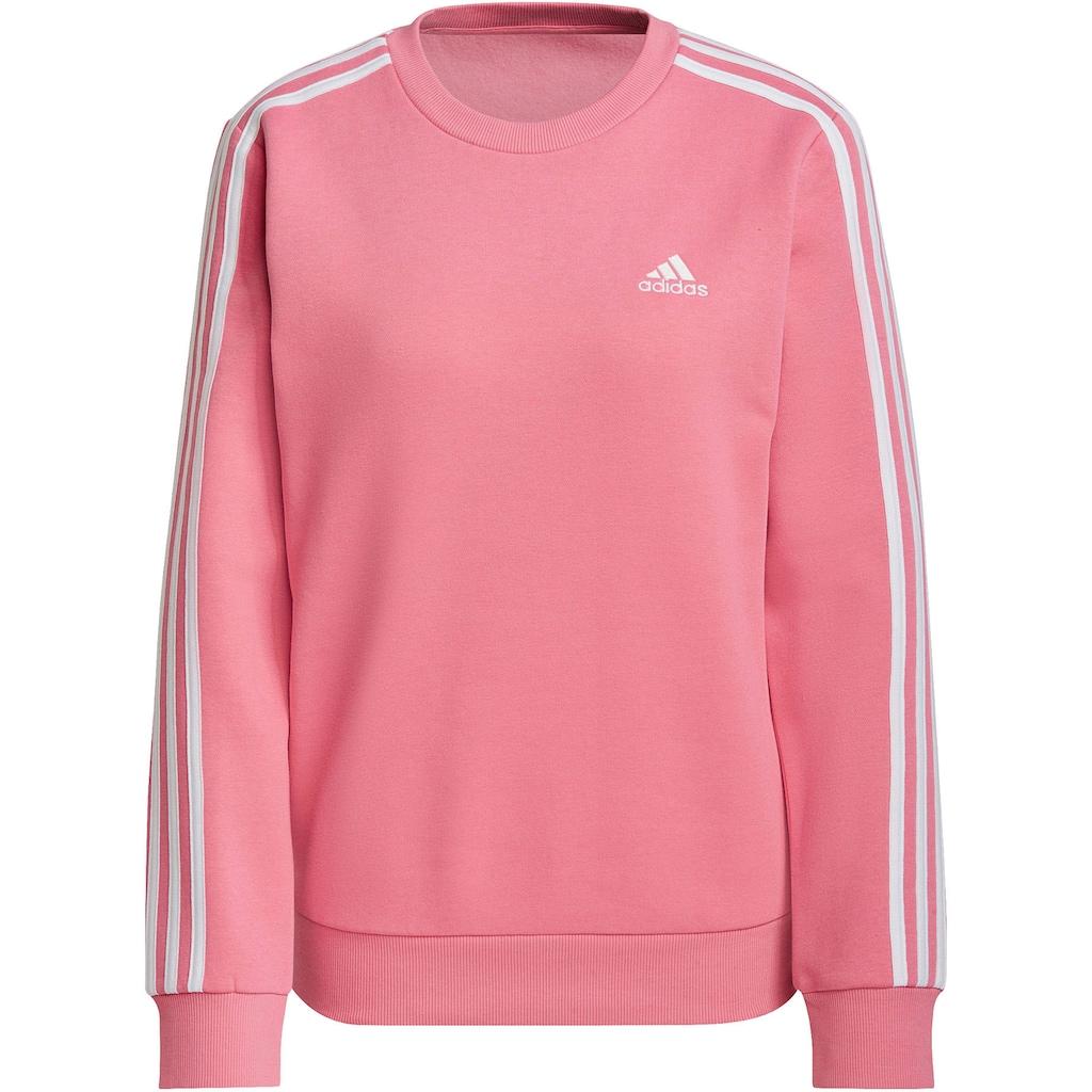 adidas Performance Sweatshirt »ESSENTIALS 3-STRIPES FLEECE SWEATSHIRT«