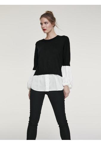 Pullover mit integrierter Bluse kaufen