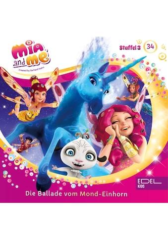 Musik - CD Die Ballade Vom Mond - Einhorn (34) - Hörspiel / Mia And Me, (1 CD) kaufen