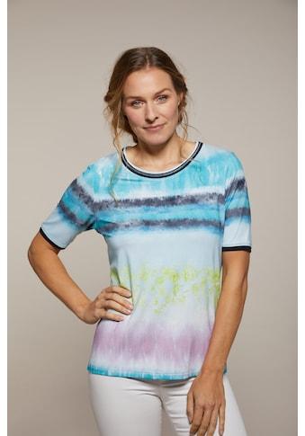 Hajo Kurzarmshirt, mit Batik-Print kaufen
