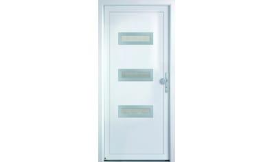 KM Zaun Haustür »K366D«, nach Wunschmaß, rechts oder links, mit Griffgarnitur kaufen