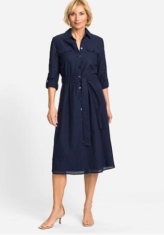 Olsen Blusenkleid, aus femininer Lochspitze kaufen