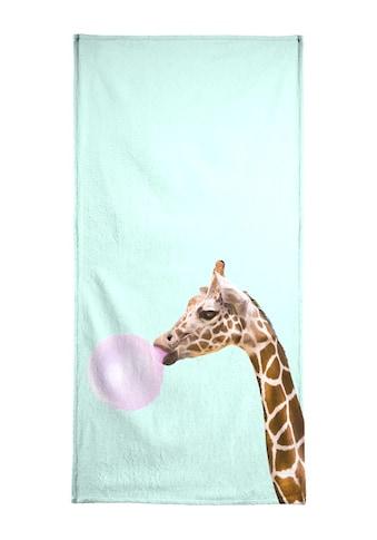 """Handtuch """"Giraffe"""", Juniqe kaufen"""